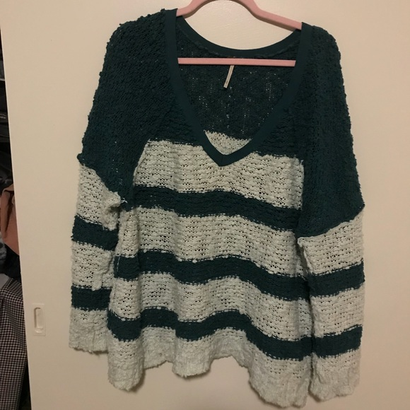 Free People Sweaters - Free People Stripe Sweater